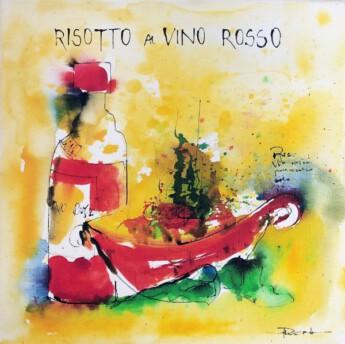 Risotto a vino rosso