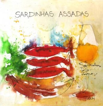 Sardinhas assadas